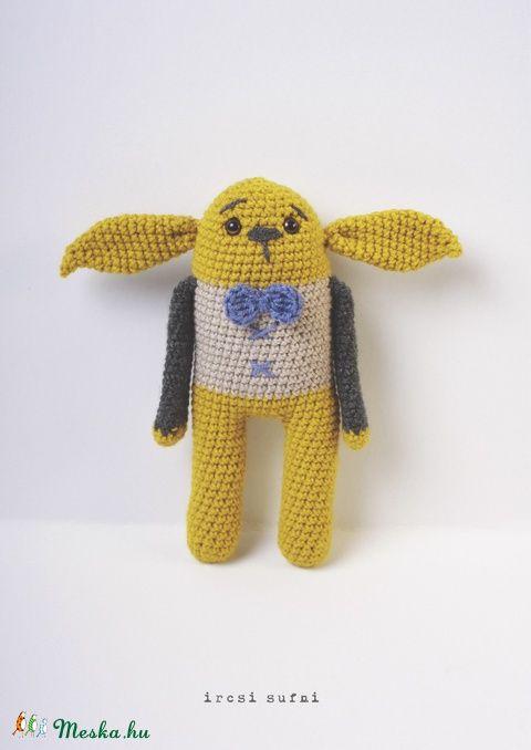 Meska - Horgolt Nyunyó ircsisufni kézművestől  #crochet #crochettoys #toy