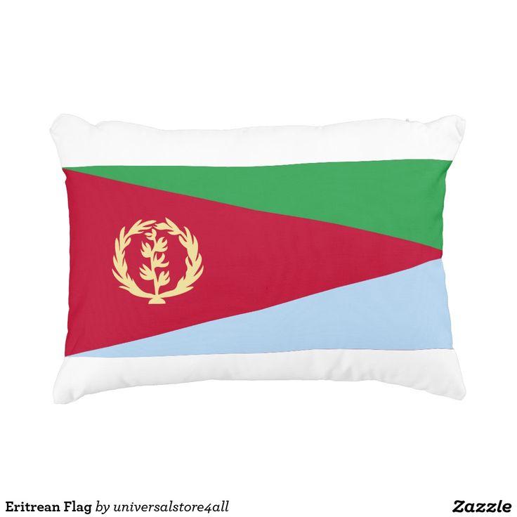 Eritrean Flag Accent Pillow