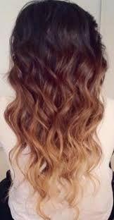 Degrade couleur cheveux femme