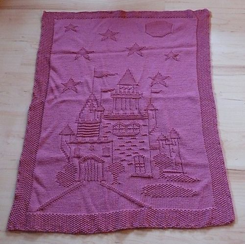 Ravelry: Enchanted Castle Afghan for my baby girls