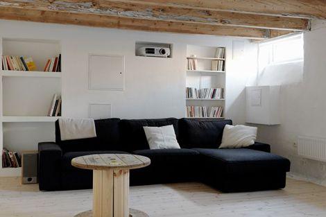 Binnenkijken in een Zweeds appartement vol ruwe schoonheid / www.woonblog.be