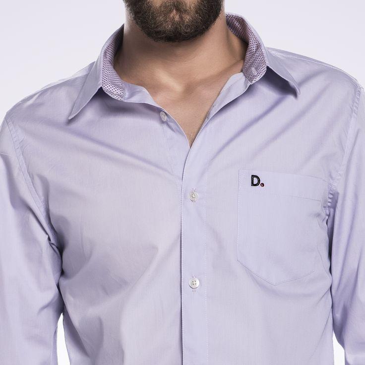 Detalhes que fazem a diferença 💫 Camisa exclusiva na loja virtual 💻  #diezo #purple #man #homem #moda #fashion #brasil #roupas #modahomem #homemfashion #estilo #conforto #personalidade