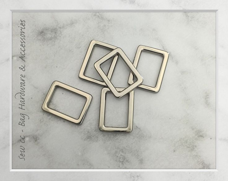 A personal favourite from my Etsy shop https://www.etsy.com/au/listing/452311426/20mm-rectangle-rings-silver-pack-of-2