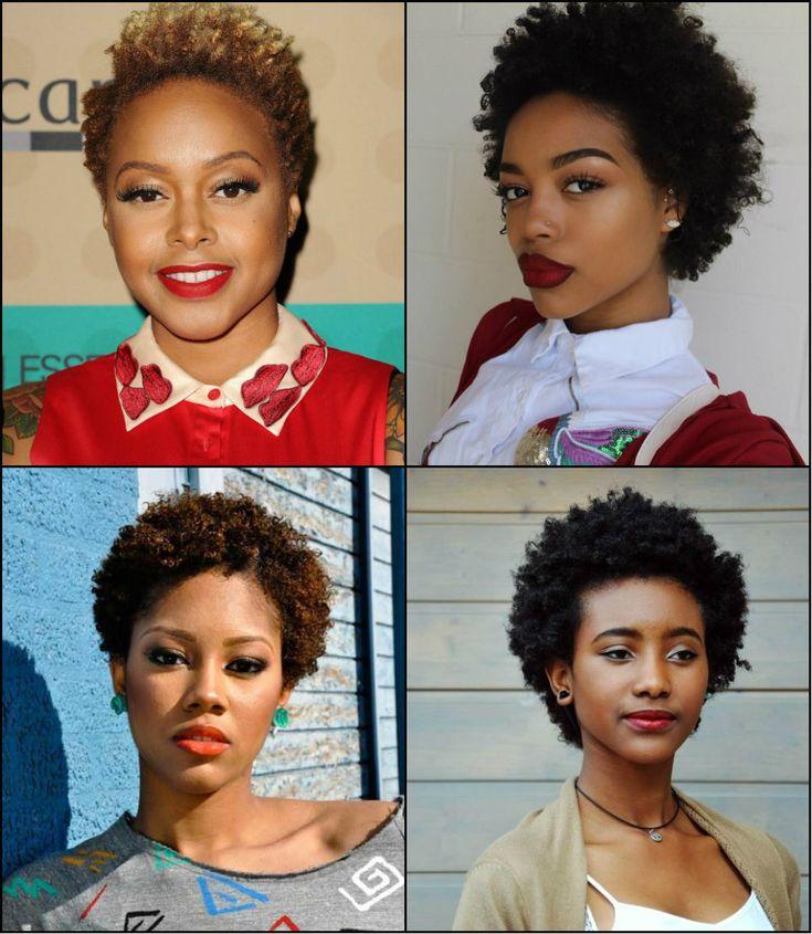 Las Mujeres Negras Afro Corto Peinados A Ser La Tendencia Principal //  #afro #corto #mujeres #negras #Peinados #Principal #tendencia