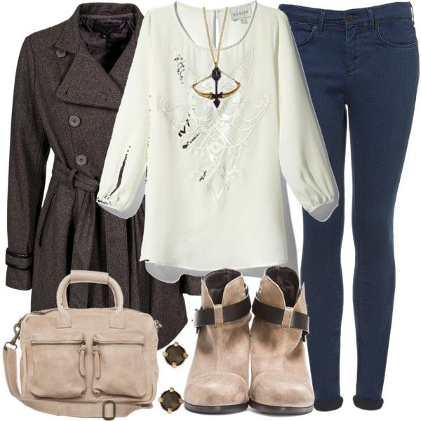 Allison Inspired Winter Trip Outfit by veterization on Polyvore featuring polyvore, fashion, style, S'Nob De Noblesse, Topshop, rag & bone, COWBOYSBELT, Maria Francesca Pepe, Sabine and clothing