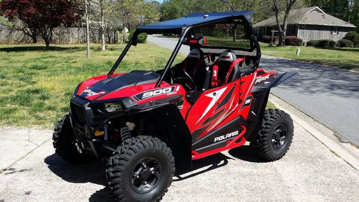 Used 2015 Polaris RZR S 900 EPS ATVs For Sale in Georgia. <i><b>2015 POLARIS RZR S900 RED</b></i>- IMMACULATE - Later production <b>build date 4/28/15</b> - Kept inside heated & ac garage - Meticulously built with the highest quality accessories available - 17.1 hrs/127 mi - Most in neighborhood with granddaughter - <b>Polaris Protection Extended Service Contract thru 5/18/18</b> w/$40 transfer fee - <b>ACCESSORIES:</b> <b>TrailArmor</b> mudflap fender extensions - <b>DragonFire</b> front…
