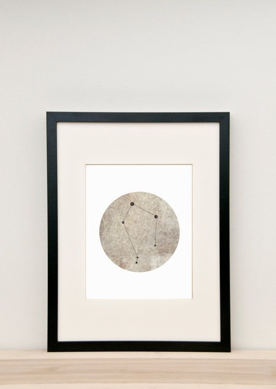 Libra Art, Libra Constellation, Libra Poster