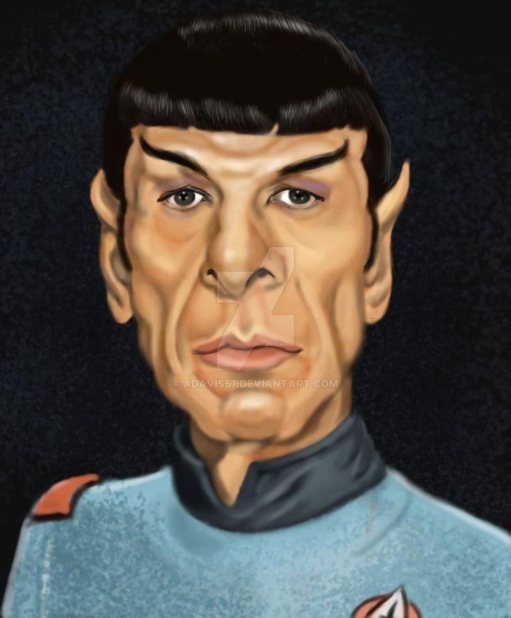 Mr. Spock by adavis57 on DeviantArt