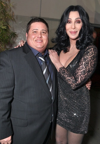 Image of Chaz Bono and Cher