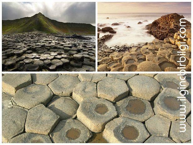Birbirinden ilginç ve enteresan jeolojik oluşumlar