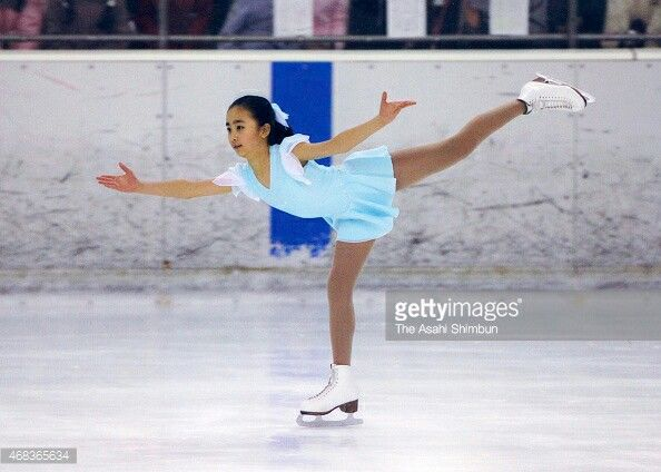 TOKYO, JAPAN - APRIL 12: (CHINA OUT, SOUTH KOREA OUT) Princess Kako of Akishino competes in a figure skating competition at Meiji Jingu  Ice Skate Rink on April 12, 2007 in Tomyo, Japan.