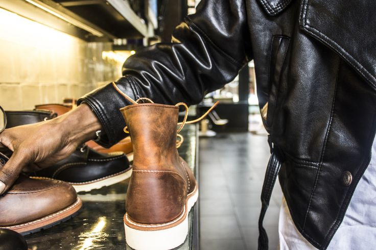 Picking that special pair is never easy when you shop in a store like Redwing