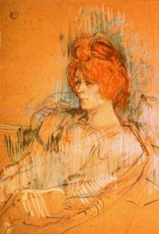 Henri deToulouse-Lautrec - Seated Woman