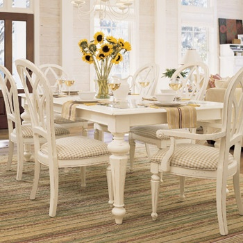 Cottage Revival Collection From Stanley: White Cottage Furniture