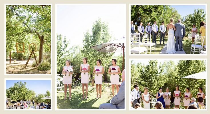 Beautiful ceremony at Laurelville Manor, York, Western Australia.