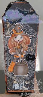 Halloween, Coffin tutorial, Simply Sassy