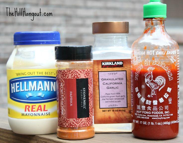 ... Sriracha Dipping Sauce | Recipe | Dipping Sauces, Sauces and Potatoes