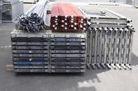 162,71 m² gebrauchtes Baugerüst mit Alu-Robustböden MJ Layher Alfix (131053)