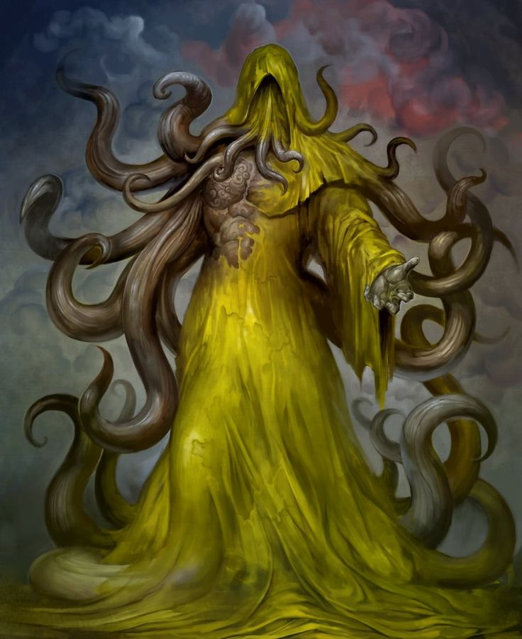 """Hastur, Great Old One, """"The Unspeakable"""", """"He Who is Not to be Named"""" and """"The King in Yellow"""""""
