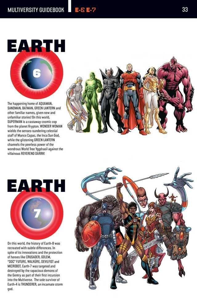 Dc Comics World Map : comics, world, Multiverse,, Multiversity, Comic, Series, Imgur, Comics, Superheroes,, Superhero, Comic,