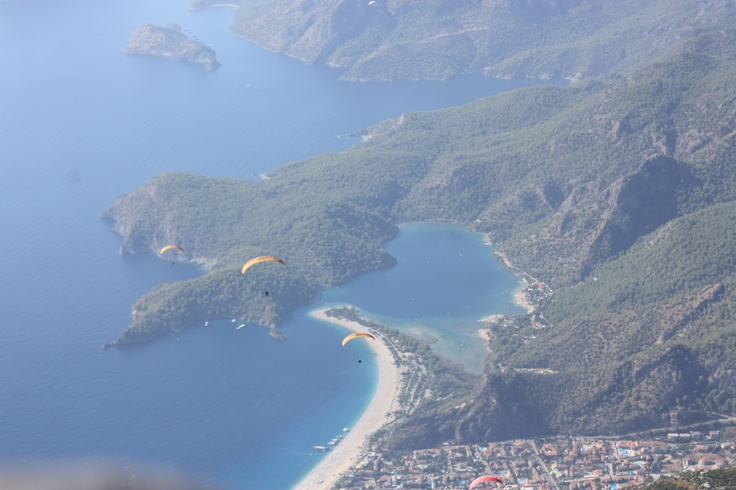 breathtaking view of Ölüdeniz