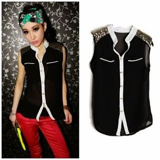 Kode Produk : idw33  Bahan : Fabric chiffon+Sequins (not elastic) High Quality Bust 85  Shoulder 38 Length 66  Kontak Amelia Butik : SMS : 0856-4063-4309 BBM : 275D50E5