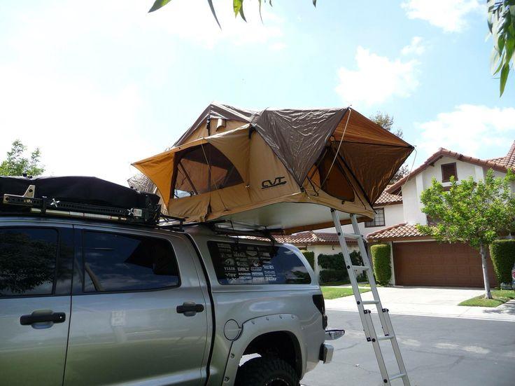 Roof Top Tent Mr T 2008 Toyota Tundra Truck Build