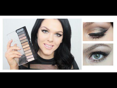 Kim Kardashian Inspired Tutorial ♥ Using Chi Chi Nudes Palette - YouTube