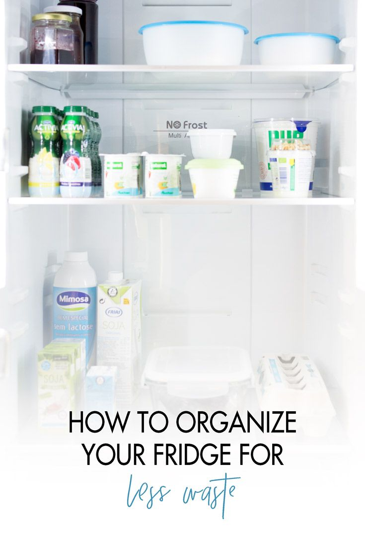 How I organized my fridge to prevent food and money waste