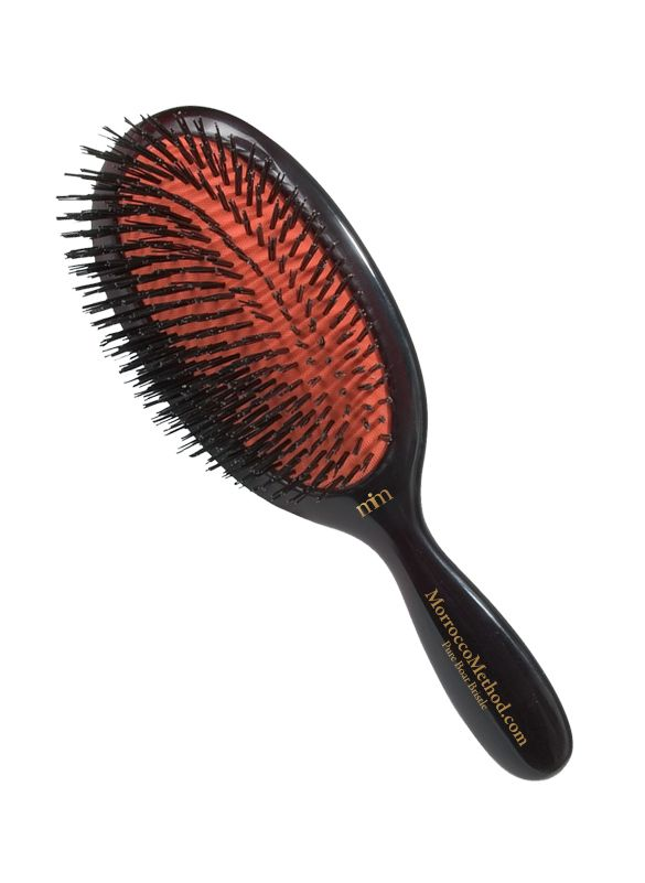 Boar Bristle Brushes & Scalp Massager : Pure Boar Bristle Brush – Extra Large