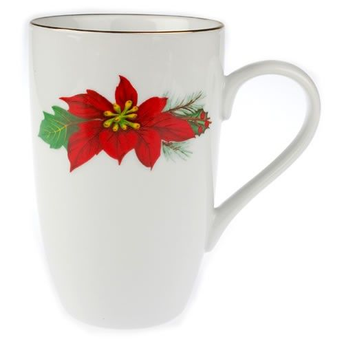 Εορταστική πρόταση για σας που τα Χριστούγεννα έχουν χρώμα κόκκινο-πράσινο-χρυσό. Δύο πανέμορφες κούπες για καφέ, για τσάι, από φίνα λευκή πορσελάνη με σχέδιο Αλεξανδρινό, σε γιορτινή συσκευασία. (