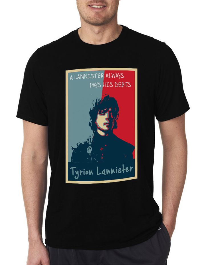 A Lannister Always Pays His Debts Game of Thornes Men's T Shirt Size S-XXL