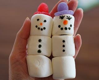 Marshmallow Kabobs for Christmas