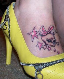 Best Tattoos For Men: Girl Skull Tattoos