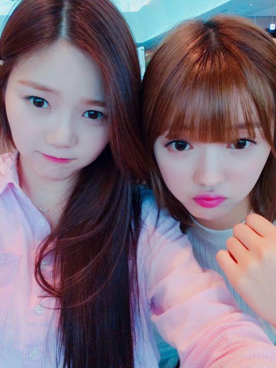 Hyojung and YooA