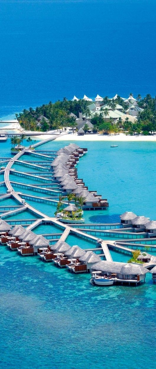 W Hotel and Resort - Maldives #MaldivesPins #VisitMaldives