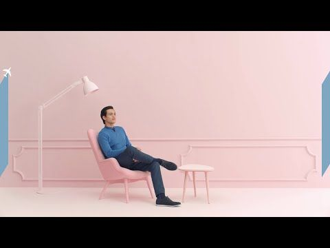 Air France: Service | I liked this ad for Air France a lot cause of how simple it was and how they showed different people throughout the campaign.
