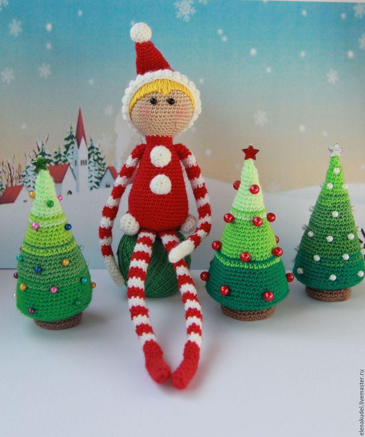 Купить Рождестенский эльф - ярко-красный, подарок, новогодний подарок, новогодний сувенир, новогодний декор