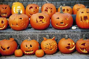 Keep a carved pumpkin looking its best all season. - Gail Shotlander/Moment/Getty Images