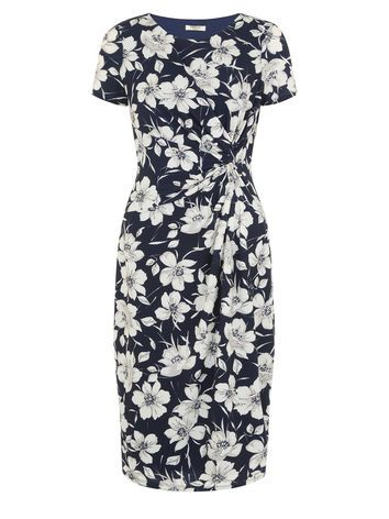 PRECIS FLORAL PRINTED DRESS