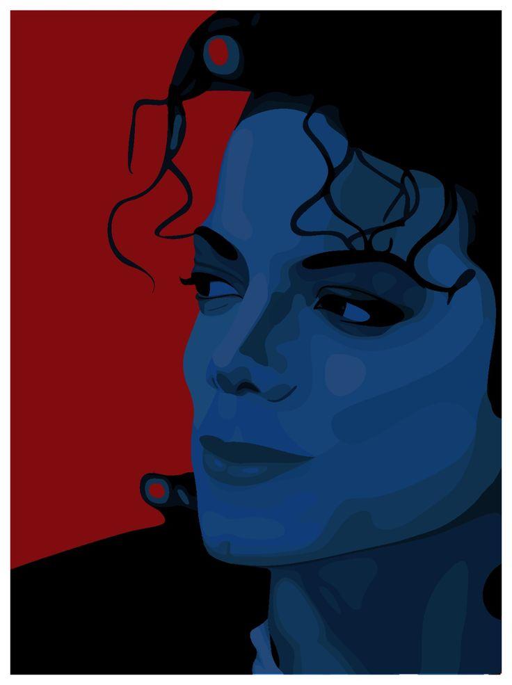 Michael Jackson - Pepsi Illustration