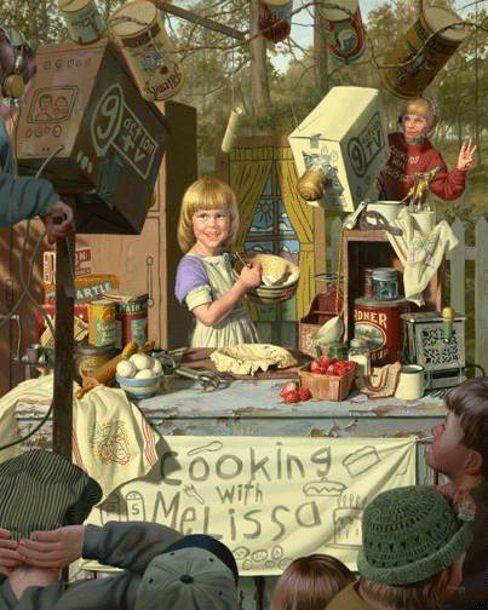 Cooking with Melissa by Bob Byerley