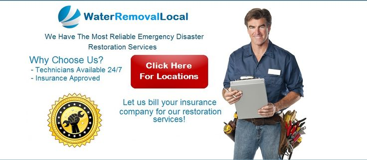 Water Removal Local - Flood, Fire, Mold & Sewage Restoration
