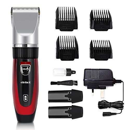 Elehot Hoford Chrome Precision Power Hair Clipper,probably the most advanced hair clippers you are worthwhile!  Description:  ●Featuring a higher-performance motor with turbo boost and titanium-coated & ceramic blades for added strength,Elehot hair clippers offers salon-quality results in y...