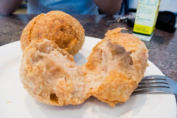 fried meatball or bakso goreng