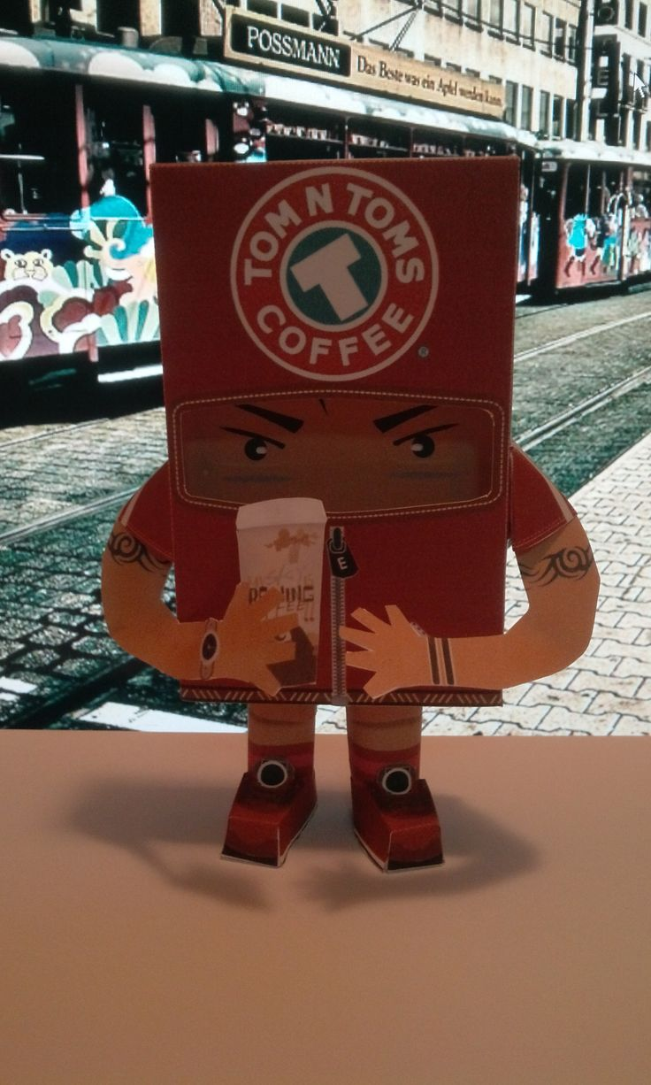 coffee paper toy8