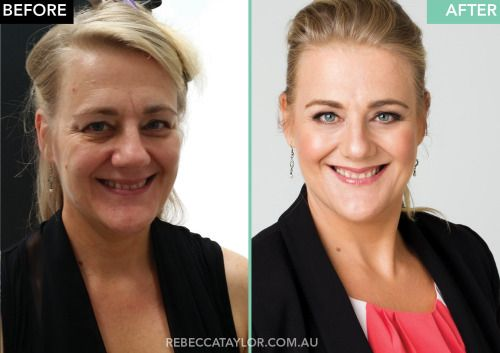 Recent corporate headshot shoot with this wonderful event planner. Leanne didn't have a problem with letting me use her getting ready pic for a 'before' shot. Shes gorgeous inside and out but its amazing what some snazzy lighting, great hair/makeup and some digital finessing can do! www.rebeccataylor.com.au