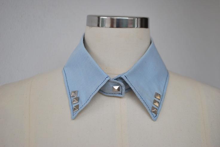 jean collar spike spike  #spike #spikey #collar #pitikara #ekoseli #yaka #jean