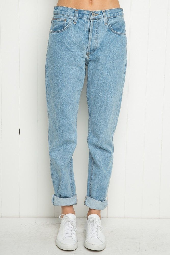 Brandy ♥ Melville | High-Rise Mom Jeans - Just In