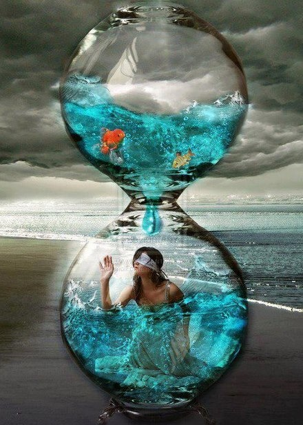 Hourglass art | Time....it's Time | Hourglass, Art ...
